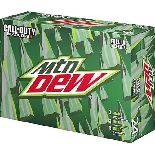(Mountain Dew Soda, 12 Ounce (24 Cans))