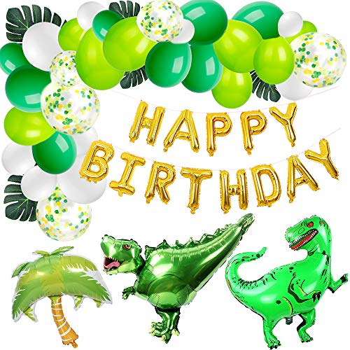 Jblcc Dinosaur Birthday Decorations Little Dino Party Decorations Set for Boy Jurassic World Park Dinosaur Party -