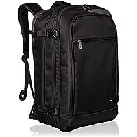 AmazonBasics Carry-On Travel Backpack (Black)