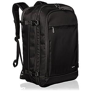 Amazon Basics Carry-On Travel Backpack – Black