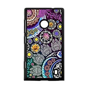 Canting_Good Floral pattern Custom Case Shell Cover for Nokia Lumia 520