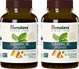 Himalaya Turmeric95 with Curcumin, 60 VCaps for Antioxidant and Joint Support 600Mg, (Pack of 2) For Sale
