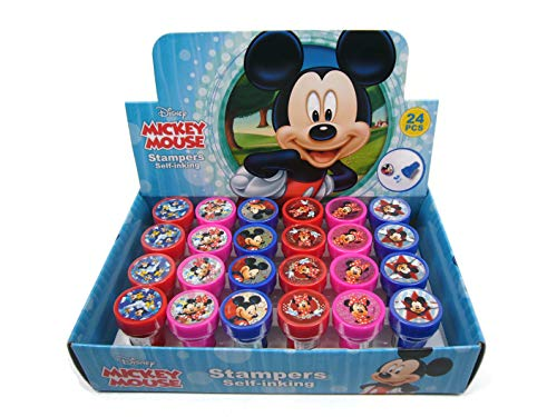 Minnie Mouse Favors (Disney Mickey Mouse 24 Stampers Party Favors (in)
