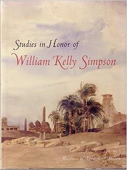 Book Studies in Honor of William Kelly Simpson