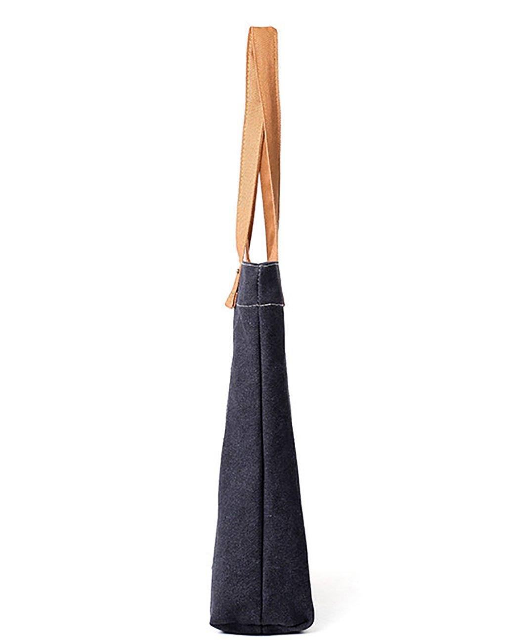 Bageek Canvas Tote Bag Handbags for Womens Bag Canvas Purses and Handbags by Bageek (Image #3)