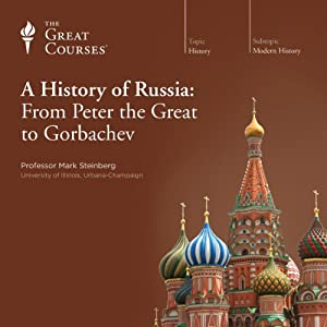 The Great Courses - A History of Russia Audiobook