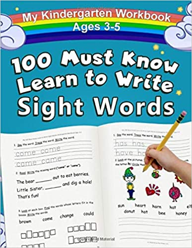 My 100 Must Know Learn to Write Sight Words