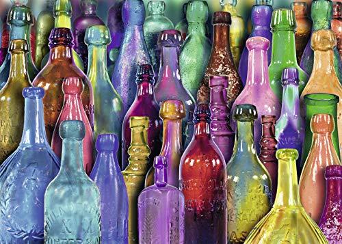 Ravensburger Colorful Bottles Puzzle 1000 Piece Jigsaw Puzzle Adults
