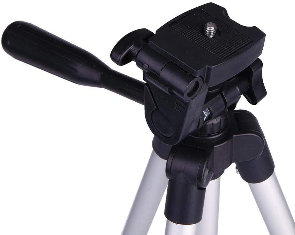 Color : Photo Color, Size : One Size FeliciaJuan Tripod Stand Extendable Aluminum Tripod Mount Stand Standard 1//4 Inch Screw Holder Photo Tripod Tripe