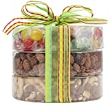 Nutty N' Sweet Candy and Trail Mix Assortment, Fruit and Nuts Gift, Perfect as a Thank You Gift or for Any Occasion, Small-Batch Kettle Roasted for Superior Freshness, Nuts Never Tasted This Good