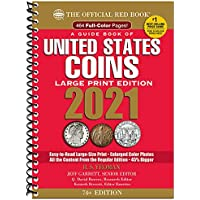 Guide Book of United States Coins 2021 Large Print