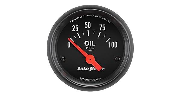 Amazon.com: Auto Meter - Medidor de presión de aceite ...
