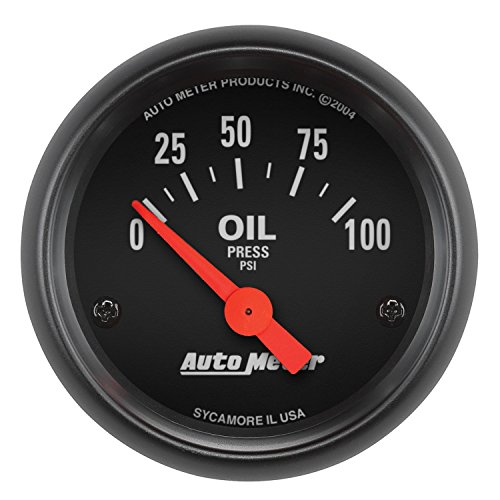 Auto Meter 2634 Z-Series Electric Oil Pressure Gauge - Sk Pressure Socket