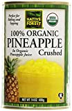 Native Forest, Crushed Pineapple, Organic, 14 oz