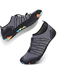 JIASUQI Water Athletics Shoes Mens Womens Sports Aqua Barefoot Quick Dry for Beach Swimming Boating Fishing Diving Surfing