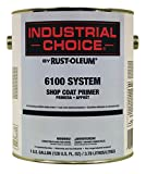Rust-Oleum Industrial Choice 6100 Shop Coat Primer- 206331 Gray, 1-Gallon