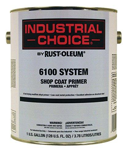 Rust-Oleum Industrial Choice 6100 Shop Coat Primer- 206331 Gray, 1-Gallon by Rust-Oleum