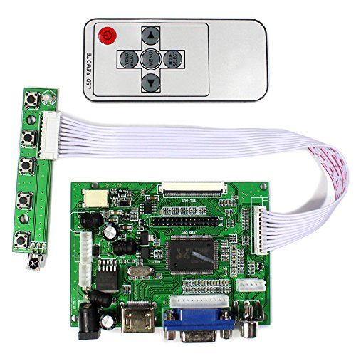 HDMI VGA 2AV LCD Controller Board For 6.5