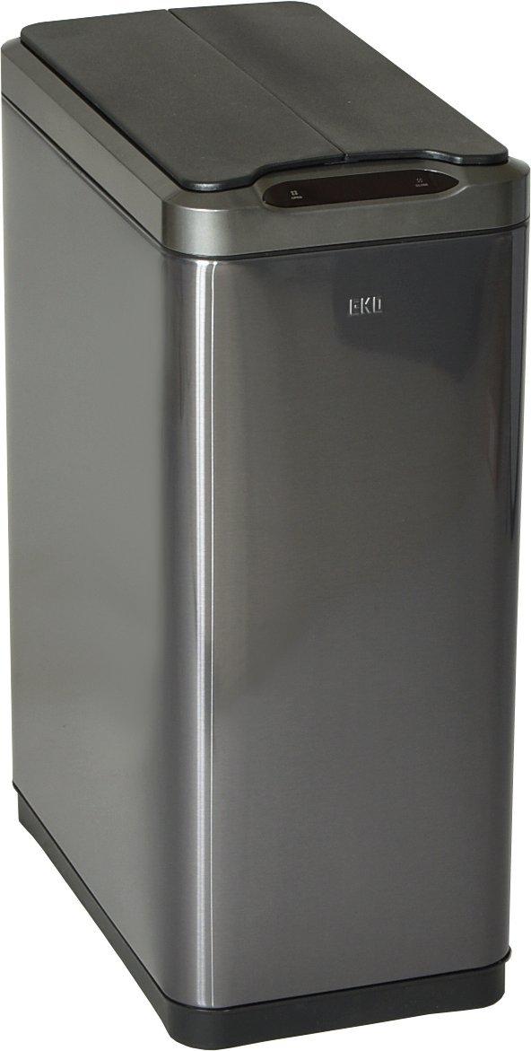 EKO センサー ゴミ箱 ダストボックス ファントムセンサービン 45L ブラックスチール EK9277 B07CZTPSC1