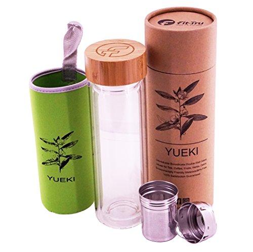 Loose Leaf Tea Infuser Bottle product image
