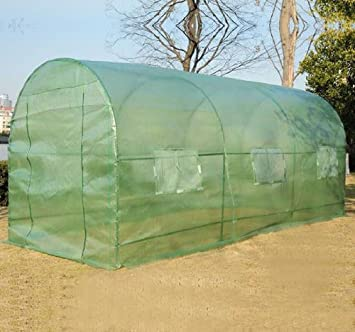 Large 15u0027 X 7u0027 X 7u0027 Walk In Portable Greenhouse Green House Plant