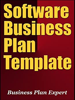 amazoncom software business plan template including 10