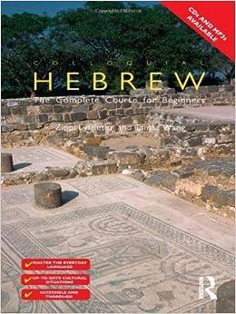 Book By Zippi Lyttleton Colloquial Hebrew (Colloquial Series) (1st Edition)