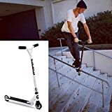 Benlet Adjustable Height Pro Scooter Complete, 2-Wheel Freestyle Stunt Scooter, Aluminum Commute Kick Extreme Scooter for Adult Teens Kids (US Stock) (White)