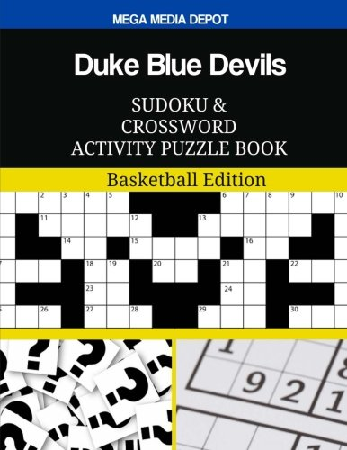 Duke Blue Devils Sudoku and Crossword Activity Puzzle Book: Basketball -
