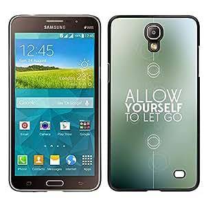 Samsung Galaxy Mega 2 / SM-G750F / G7508 Único Patrón Plástico Duro Fundas Cover Cubre Hard Case Cover - Motivation Gift Remind Minimalist
