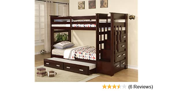 For The Boys Mission Oak 6 Pc Twin Twin Bunk Bed Rugs