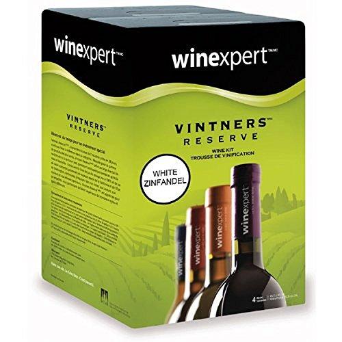 winexpert Vintner's Reserve White Zinfandel 10L Wine Kit - Zinfandel Wine