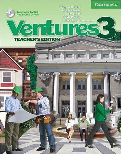 Descargar E Torrent Ventures 3 Teacher's Book With Teacher's Toolkit Cd-rom: Level 3 De Gratis Epub