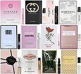Women's Designer Fragrance Vial Sampler Set - Lot of 12