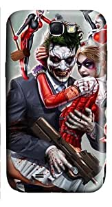 Joker and Harley Quinn PC Case and Cover for Samsung Galaxy Note 2/ Note II/ N7100