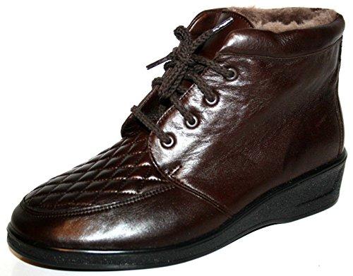 Ganter - Botas de cuero para mujer marrón marrón marrón - marrón