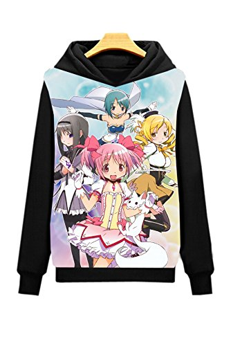 Dreamcosplay Puella Magi Madoka Magica Pullover Hoodies(Asian Size XL)