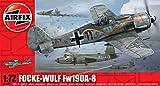 Airfix A01020 Focke Wulf Fw190A-8 Model Kit, 1:72 Scale