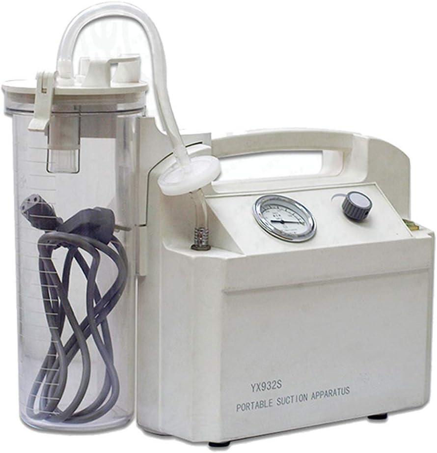ACC La flema eléctrico portátil de aspiración, Unidad de Equipo de Bomba de la secreción de moco Máquina de esputo de succión para el hogar y de Viaje