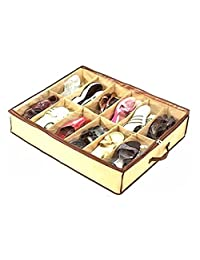 vismile 12 Grid Moistureproof anti-dust Shoes Box Home Cleaning Shoe Organizers