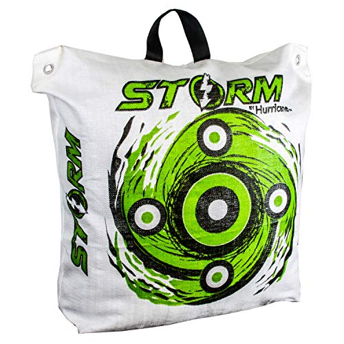 Hurricane Storm II Expanding Bag Archery Target with Off-Set Aiming Points - Two ()