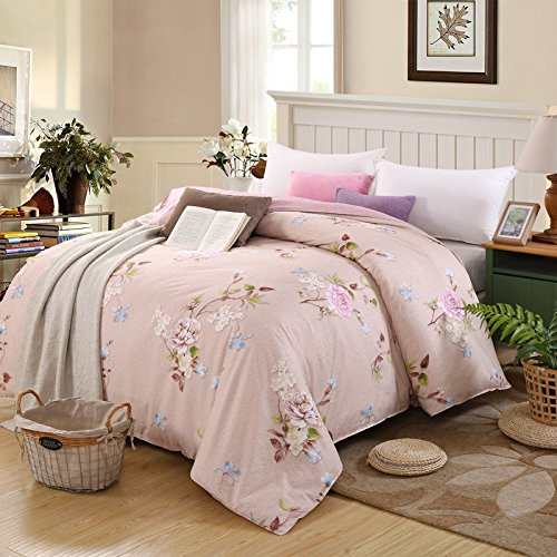 Cheap King/Queen 100%Cotton Bed Quilt Cover Single Double Duvet Cover(Only Include Quilt Cover), Cotton Twill Cotton Single Quilt Cover,Wonderful Life,150×200cm supplier