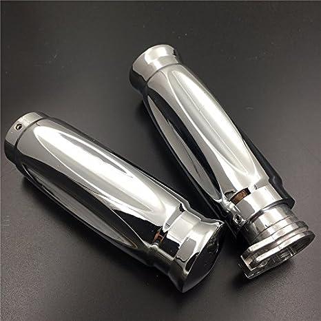 Stripe//Silber 1200 Gold Wing 1500 Lenkergriffe Honda GL 1800