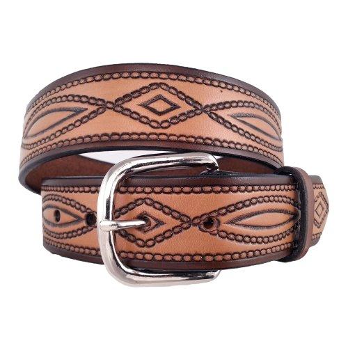 [해외]싼 타 페 가죽 남자 670 벨트 풀 그레인 브라이언 달러 가죽 / Santa Fe Leather Co. Men`s 670 belt full-grain Bridle Leather