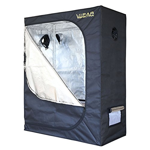 $69.99 indoor grow tent diy VIPARSPECTRA 48″x24″x60″ Reflective 600D Mylar Hydroponic Grow Tent for Indoor Plant Growing 4'x2′ 2019