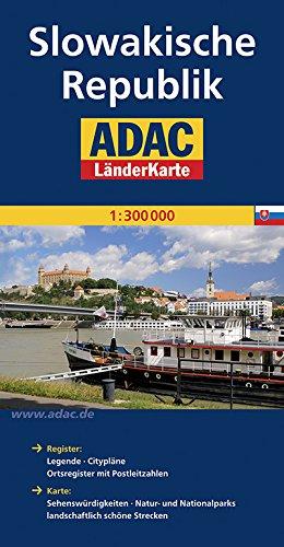 ADAC Länderkarte Slowakische Republik 1:300.000 (ADAC Länderkarten)