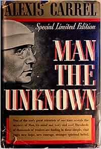 alexis carrel book man the unknown pdf