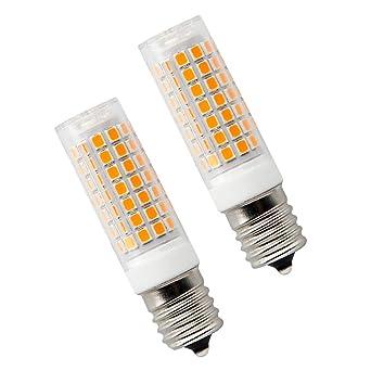 Bombilla LED E17 de 8 W regulable para horno de microondas, base ...