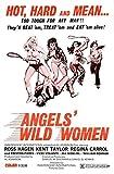 ANGELS WILD WOMEN Movie Poster 1972 Hells Angels Biker Exploitation 47x32inch