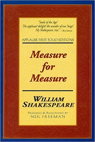 measure for measure applause first folio editions applause shakespeare library folio texts